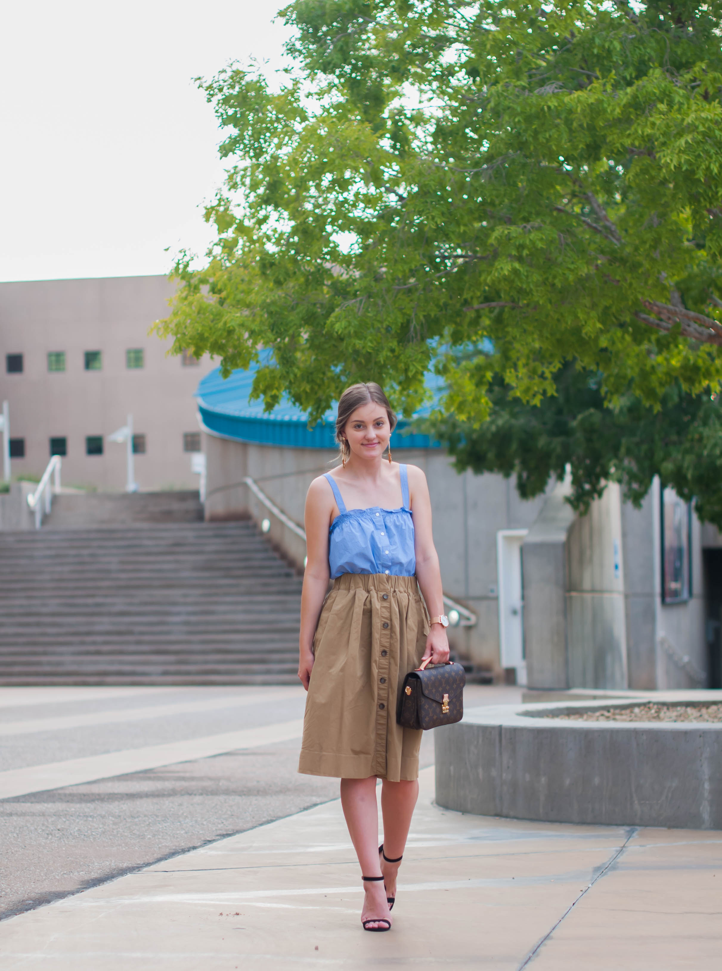 The Perfect Skirt to Transition to Fall