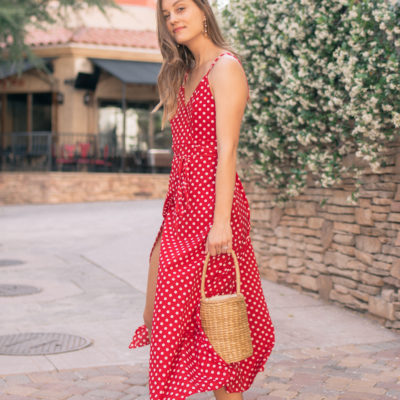 Red Dress Love with Zaful