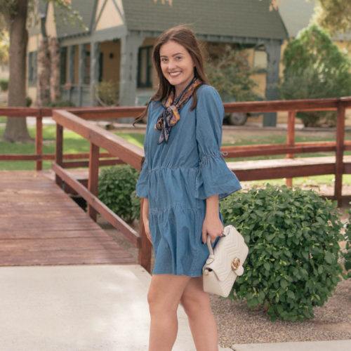 This Denim Dress is Under $40